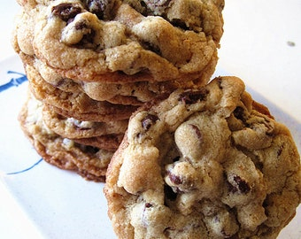 New year gift cookies ---Ultimate Chocolate Chip Cookies-abundant of chocolate chips,roasted cashews,Pecans,Almond, Pistachios--One dozen