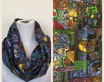 Beauty and the beast scarf