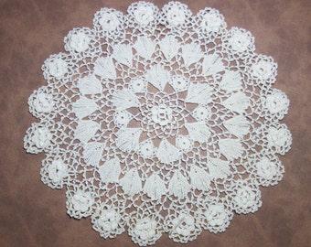 Vintage Crocheted Centerpiece doily