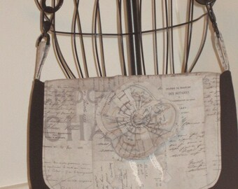 Tim Holtz Eclectic Elements Handbag, Tim Holtz Purse, Handbag, Crossbody Purse