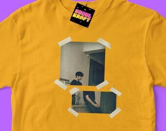 방탄소년단 BTS Jungkook Aesthetic Oil Paint Tape photo Unisex Kpop Shirt | bts kpop | bts | bts shirt