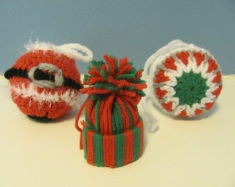 Christmas Ornaments set of 3