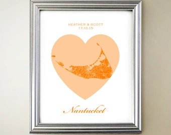 Nantucket Heart Map