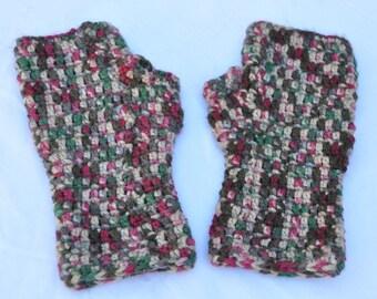 Handmade crochet wristers