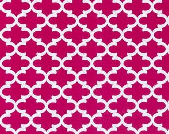 Premier Prints Fulton in Deep Pink Twill Home Decor fabric, 1 yard