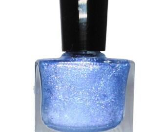 Plutonium - Periwinkle Blue Glitter Nail Polish