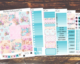 ECV04 Sewing Is Life- Weekly Kit For Erin Condren Vertical Planner