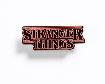 Stranger Things Logo – Enamel Pin Inspired by Stranger Things