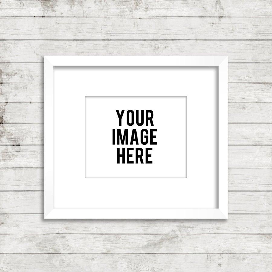 zoom - White Frame