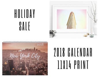 Package 1 - Your choice of calendar + 11x14 print - 15% off