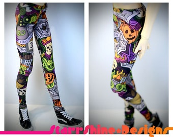 BJD SD13 1/3 Doll Clothing - Halloween Ghost Town Leggings
