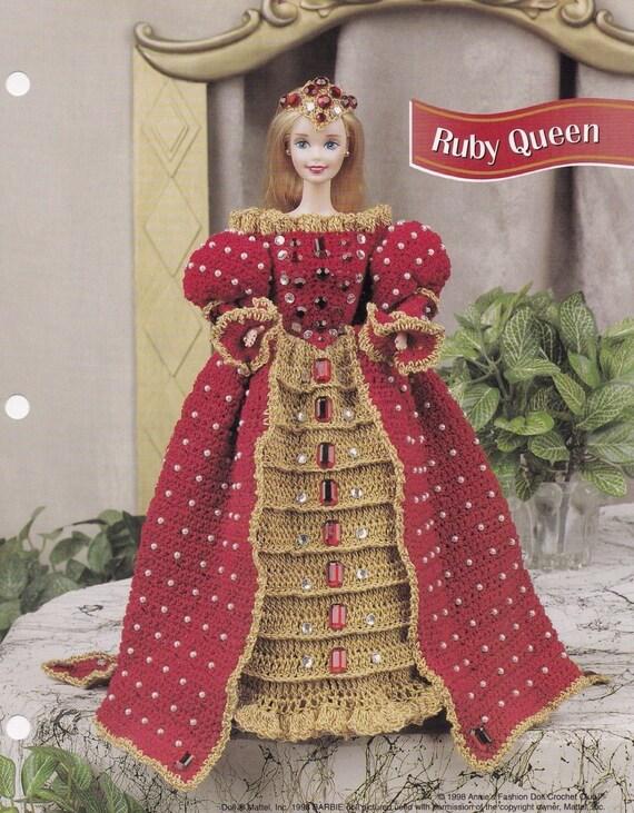 Rubin Queen Annies attischen Fashion Puppe Kleidung häkeln