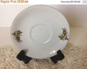 Sale Vintage Made in Japan Flower Bud Saucer Plate Ring Dish Jewelry Holder Trinket Dish Ring Holder