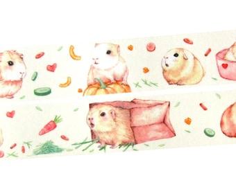 Guinea pigs Paper tape