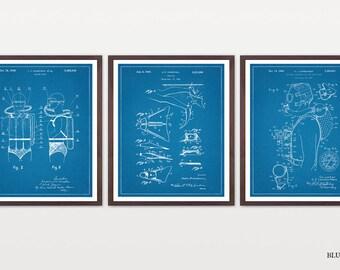 Scuba Diving Patent Collection - Scuba Patent - Diving Patent - Scuba Art - Underwater - Diving Art - Diving Poster - Scuba Poster - Aqua