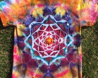 Tie Dye Mandala Shirt