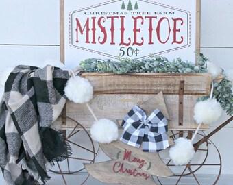 Mistletoe Christmas Tree Farm SVG