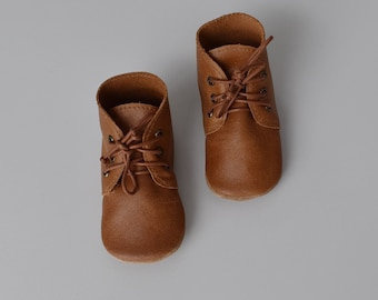 desert boot / soft soled shoes / (new) CARAMEL leather