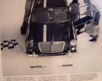 MG Sports Sedan 60's ad 1898.00
