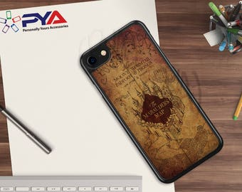 Harry Potter Phone Case - The Marauder Map for Apple iPhone & iTouch Devices. Harry Potter iPhone Case