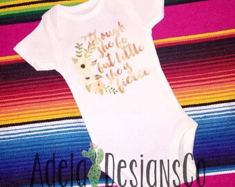 She is Fierce Infant, Toddler,& Youth Sizes