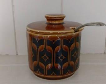 Vintage Hornsea Preserve Pot