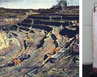 Antique, Industrial, Dwyer, Manometer,  Dwyer Mfg. Co. Chicago, Dwyer Flex Tube, Steampunk, Hydrologist, Mining