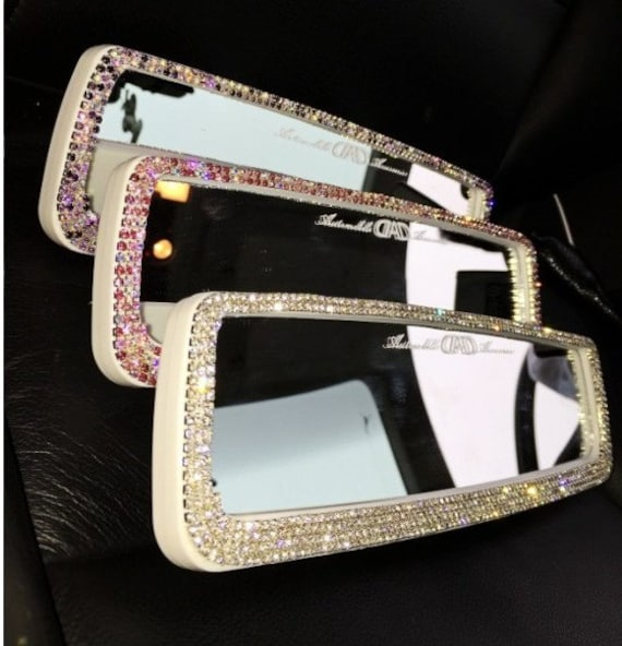 Unique Girl Gift Rhinestone Bling Car Accessories For Women