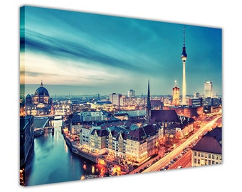 Berlin Germany Canvas Pictures Wall Art Prints Home Decoration Photos Framed Poster City Images