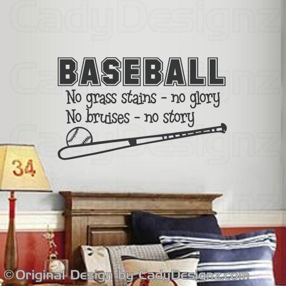 Sports Baseball Wall Decal