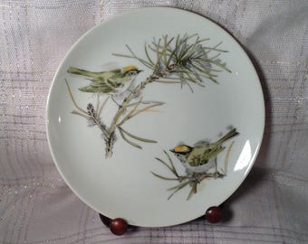 Enesco Song Bird Plate
