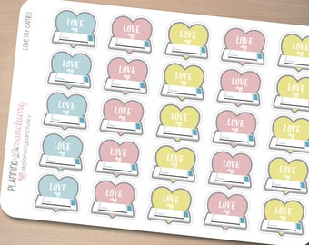 Cameo Planner Accessories Planner Stickers Perfect for Erin Condren, Kikki K, Filofax and all other Planners