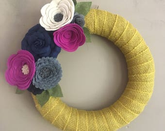 Spring Wreath-Summer Wreath-Spring Decor-Summer Decor-Easter Wreath-Easter Decor-Mothers Day Wreath