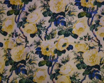 Bold Floral Schumacher Home Fabric 2 Yards