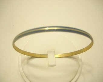 BLUE ENAMEL BANGLE (0264) Japan