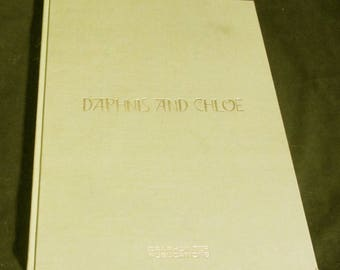 Daphnis and Chloe  Vintage Book translated by Philip Sherrard illustrated by Stavros Papassavas
