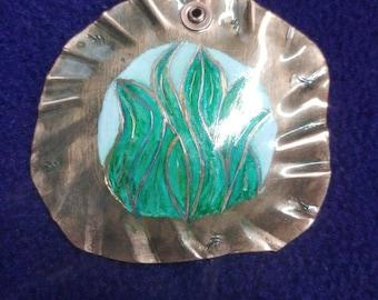 Hosta on copper
