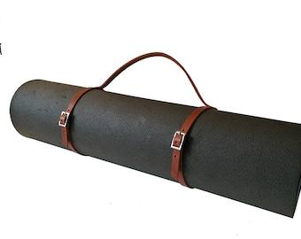 bag rugs yoga/Pilates leather adjustable base