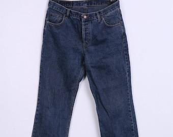 Levi Strauss &Co 501 Mens W35 L34 Trousers Denim Jeans Navy Cotton Vintage