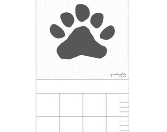 Bar for nursery - bear paw