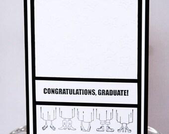 Congratulations Graduate Happy Graduation Card, Congrats to the Grad Hand Made Card, Happy For You Graduation Note Card, You Did It Graduate