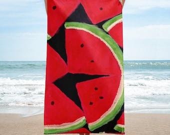 Watermelon, Beach Towel