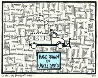 Snow Plow Maze