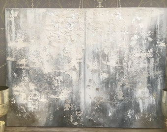 Fade to grey diptych #1