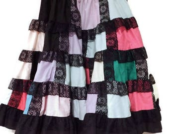 square dance skirt - square dance clothes - colorful skirts - square dance dress - square dance skirt dress - colorful skirts -