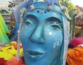 Giant Puppet - Water Goddess