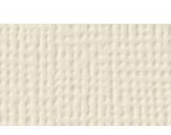 American Crafts 12x12 Ivory Textured Cardstock