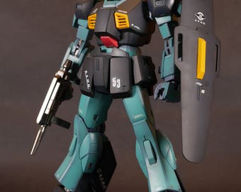 """Painted Bandai MG 1/100 """"Nemo"""" with shading effect"""