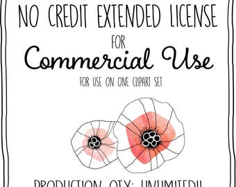 No Credit Extended License - UNLIMITED PRODUCTIONS