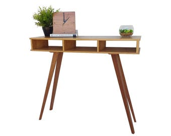 Hall Console Table - Wood - Console Table - Narrow - Hallway Table